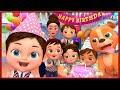Happy Birthday Song , Baby Shark , Bingo School Dog Song , Wheels on the Bus , - Banana Cartoon [HD]