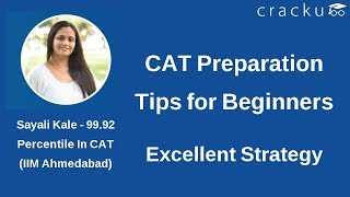 CAT Preparation Tips for Beginners - Excellent Strategy