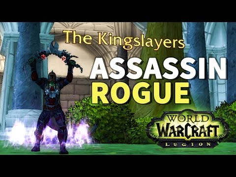 The Unseen Blade WoW Assassination Rogue Artifact Scenario