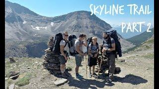 Skyline Trail, Jasper - (Part 2) - 4 Days/3 Nights 44.1 Km Family Backpack