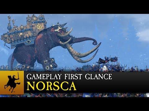 Total War: WARHAMMER - Norsca Gameplay First Glance thumbnail