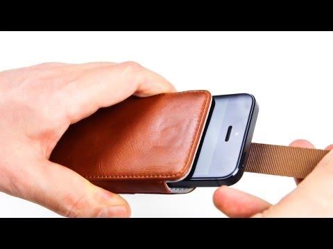 Review: KAVAJ Ledertasche Case Miami für das iPhone 5 - Tasche aus echtem Leder im Test