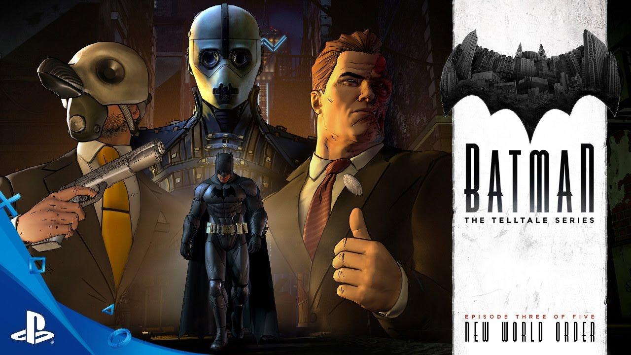 BATMAN - The Telltale Series Episode 3: 'New World Order' Trailer