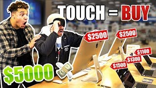 Buying Everything You Touch Blindfolded!! **$5,000+ SHOPPING SPREE**