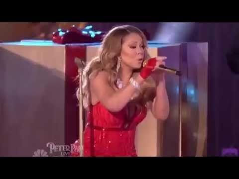 Mariah Carey VOCAL FAIL of All I Want For Christmas Is You' Live Performance