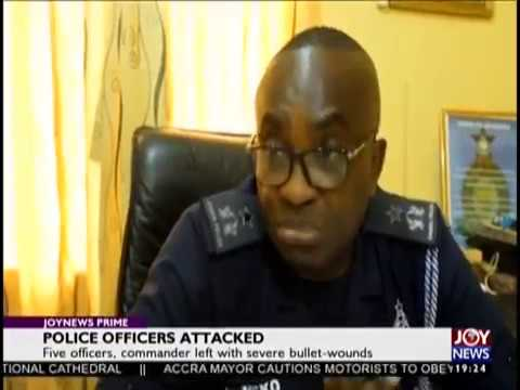 Police Officers Attacked - Joy News Prime (19-11-18)