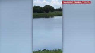 Teens laugh at drowning man