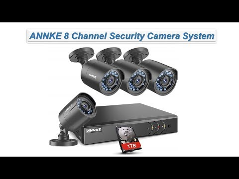 ANNKE 8 Channel Security Camera System 5-in-1 1080P | Tech Market Support