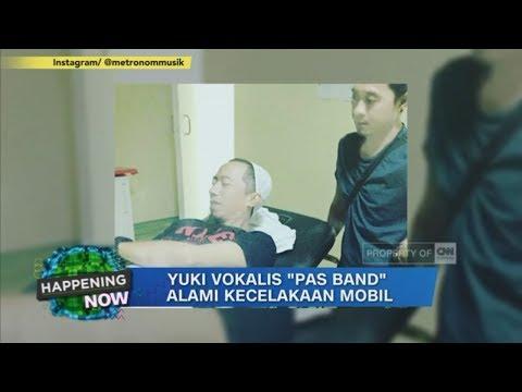 "Yuki Vokalis ""Pas Band"" Alami Kecelakaan Mobil di Cianjur"