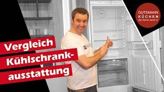 Kühlschrank - Vergleich I Welche Ausstattung und welche Größe passt zu mir?