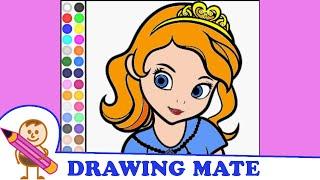 Sofia The First Coloring Pages Colouring Book ♥ Kolorowanki Malowanki gry Jej Wysokosc Zosia