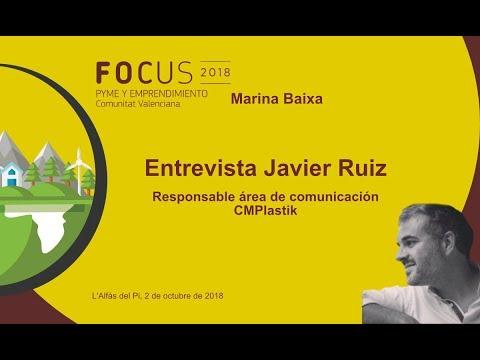 Entrevista a Javier Ruiz, responsable de comunicación CMPlastik en Focus Pyme Marina Baixa[;;;][;;;]