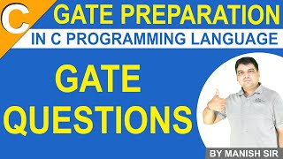 Gate Question on C Programming | C Programming MCQ for Gate | Gate Preparation