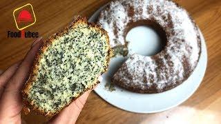Нежный маковый пирог легкий и очень вкусный