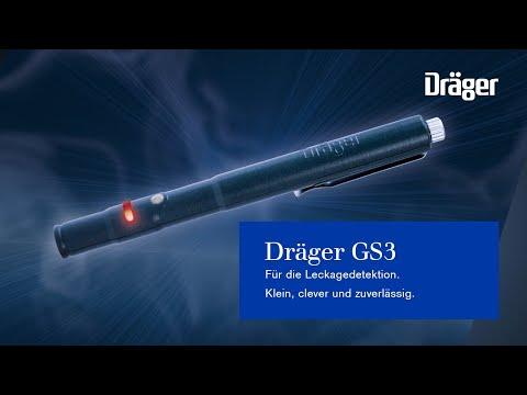 Der neue Leckagedetektor Dräger GS3