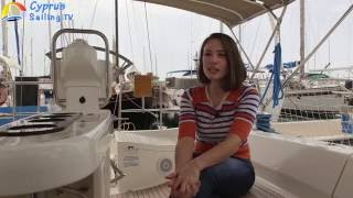 Memnia Theodorou's Interview On Cyprus Sailing TV June 2016