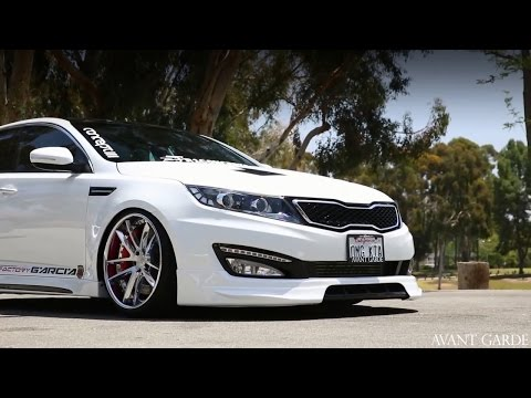 "KIA Optima on 20"" Avant Garde F431 / AG Wheels"