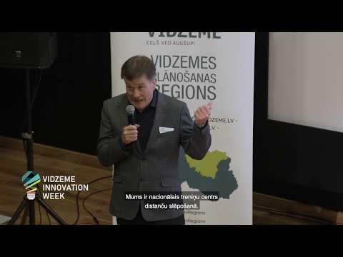 Biomasas pārstrāde uz augstas pievienotās vērtības produktiem -  meža ogu inovatīvas pārstrādes iespējas: zinātnes un industrijas sadarbība (video angļu valodā, ar subtitriem latviešu valodā)