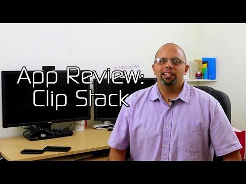 Vídeo do Clip Stack ✓ Clipboard Manager