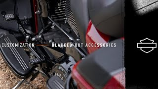 Harley-Davidson | Customization - Blacked Out Styling