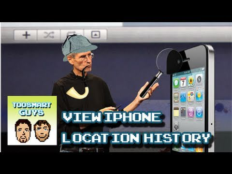 View your iPhone Location Data History