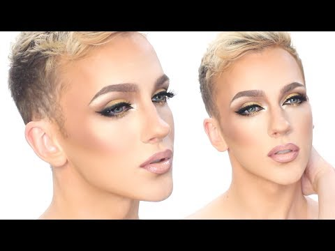 Golden Cat Eyes - FULL GLAM Makeup Tutorial :: Jonathan Curtis