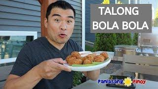 Talong Bola Bola   Eggplant Meatballs   Panlasang Pinoy