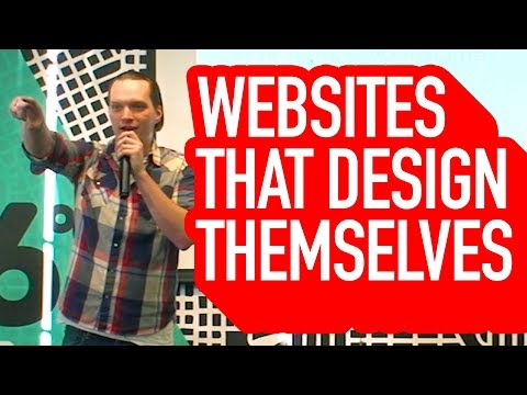 How How to Build Website That Design's Itself