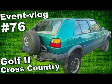 Event-VLOG #76 - prohlídka VW Golf Cross & Country