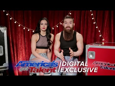 Dangerous Skaters Billy & Emily Recall Their Once in a Lifetime Audition - America's Got Talent 2017