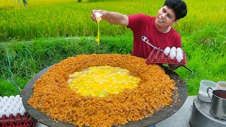 INDIA'S BIGGEST Scrambled Egg | 300 Eggs Scrambled With Butter | Amazing Street Food