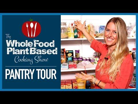 Plant Based Vegan Pantry Tour!