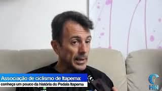 PRESIDENTE DA ASSOCIAÇÃO PEDALA ITAPEMA VISITA JORNAL HORA NOTICIA