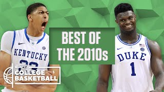 The best college basketball players of the decade: AD, Zion, Jimmer, Kemba and more | ESPN