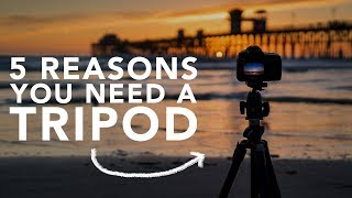 Why is a tripod important for photography