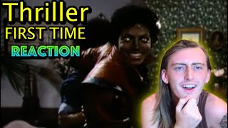 Michael Jackson - Thriller FIRST TIME Reaction