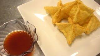 How to Make Cream Cheese Wontons & Crab Rangoon