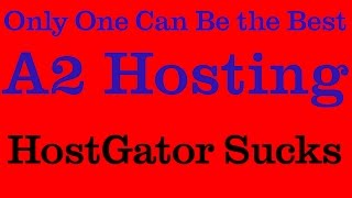 preview picture of video 'HostGator Sucks  | A2 Hosting |  Best Web Hosting Service - Sarnia, Ontario'