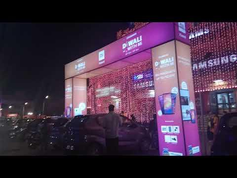Ganpati Plaza Diwali 2019 Lightings in Jaipur - 2019 Diwali Lights and Celebrations
