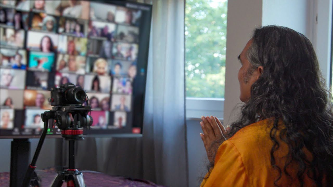 Online Darshan with Paramahamsa Vishwananda