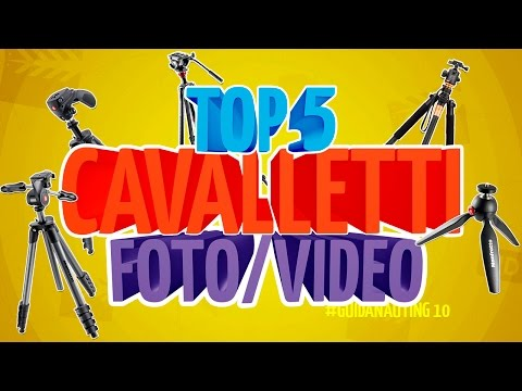 Top 5 CAVALLETTI foto/video economici