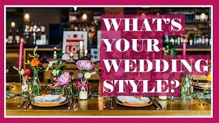How to Define Your Wedding Style
