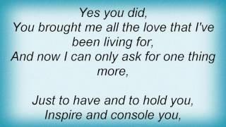 Aaron Neville - Every Day Of My Life Lyrics