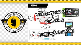 WLtoys V686G FPV - Unboxing (Indoor & Outdoor)