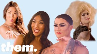 Gia Gunn Gives Kyle Krieger a Drag Makeover   Drag Me   them.