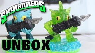 Unboxing of Green Armor Gill Grunt - Side by Side comparison of Series 1