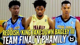 Future NBA Pros Marvin Bagley III & Cam Reddish DOING WORK! Top 5 Juniors BATTLE at Nike EYBL!!!