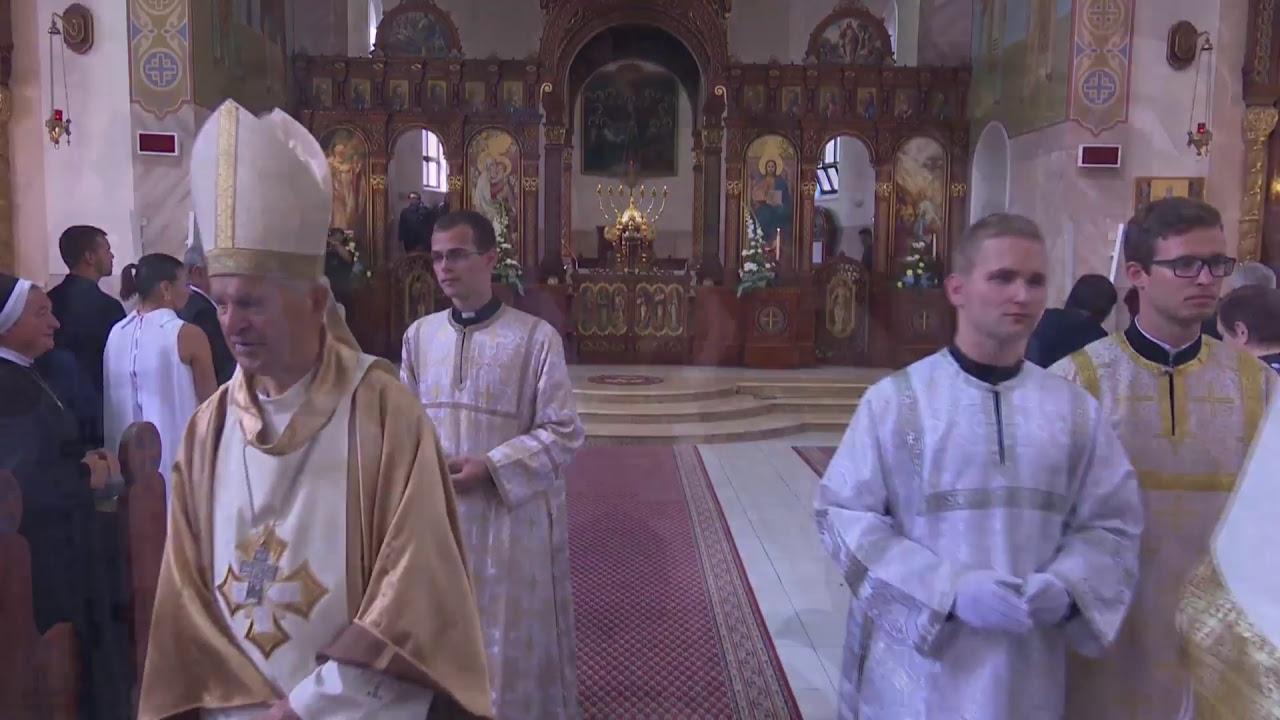 Michalovce NAŽIVO - Priamy prenos z biskupskej vysviacky torontského eparchiálneho biskupa M.Pacáka