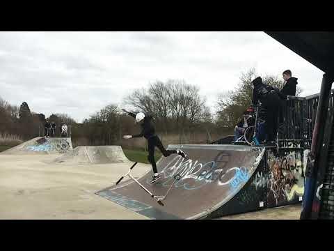 Stratford-upon-Avon skatepark day edit 🤘
