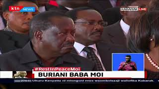 Former President Moi\'s personal Doctor, Dr. Silverstein, \